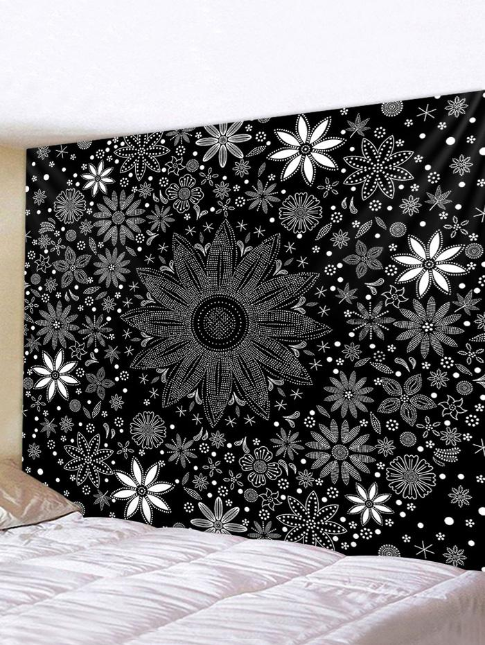 Floral Print Tapestry Wall Hanging Decorations