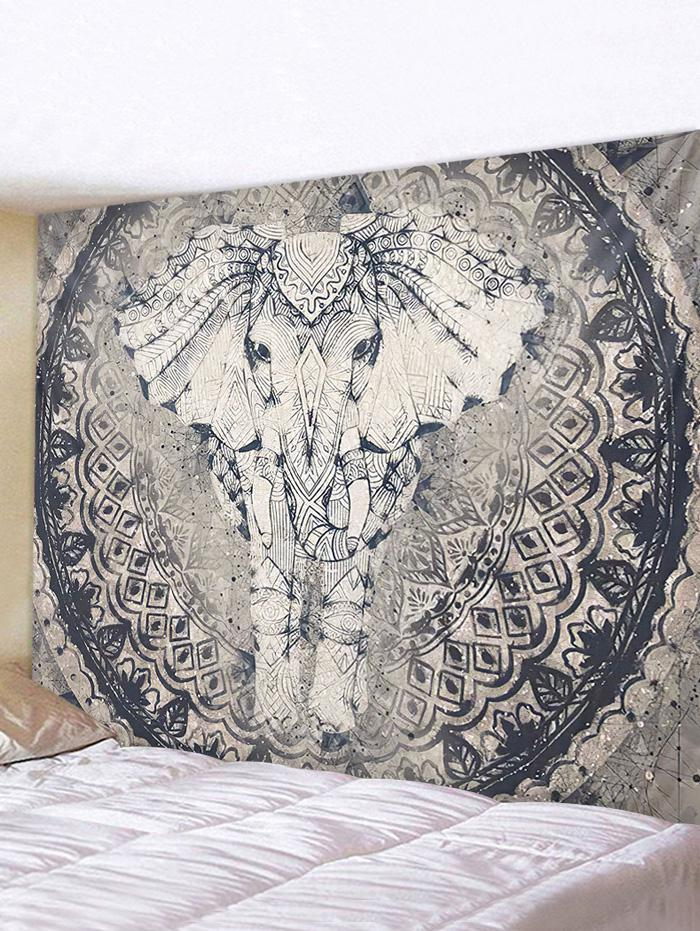 Bohemian Elephant Printed Tapestry Wall Hanging Art Decoration