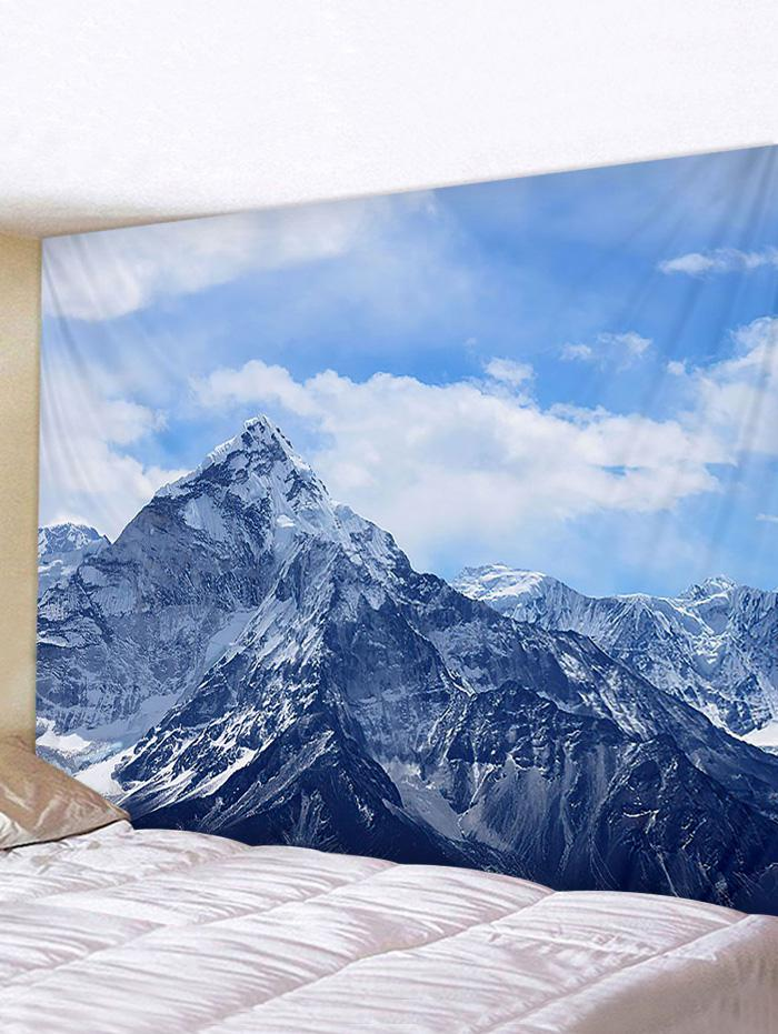 Fine Day Mountain Print Tapestry Wall Hanging Art Decoration