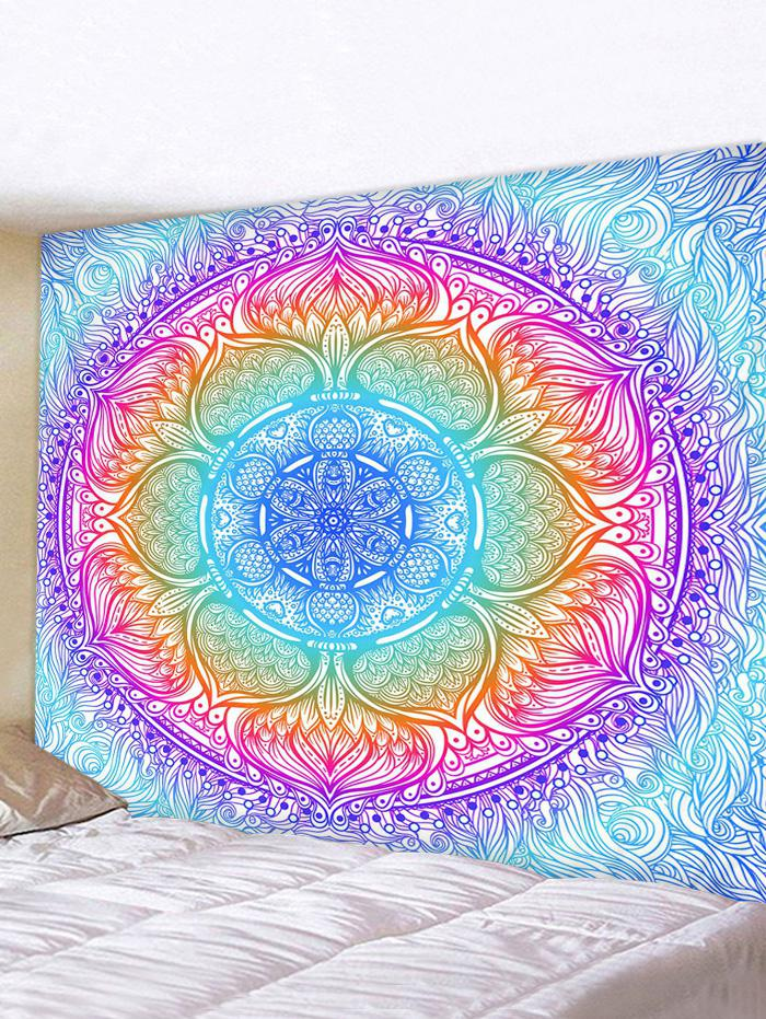 Colorful Bohemian Flower Print Tapestry Wall Hanging Art Decoration