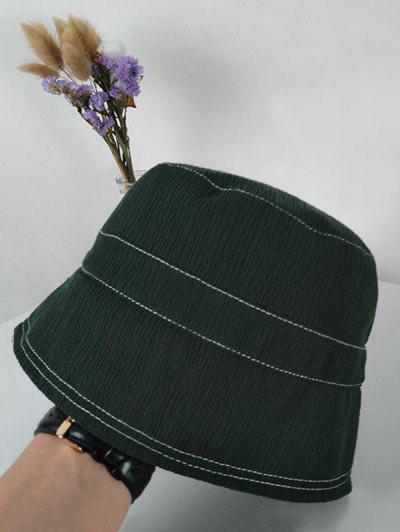 Einfarbige Sonnensicher Bucket Hut - Armeegrün