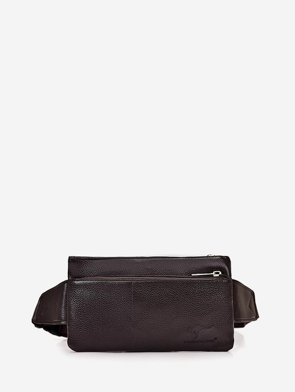 Plain Leather Adjustable Chest Bag