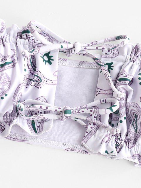 ZAFUL Paisley Tanzen Bikini Badebekleidung - Multi-A S Mobile