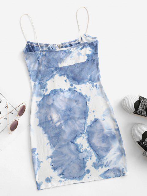Robe MoulanteTeintée - Bleu profond XL Mobile