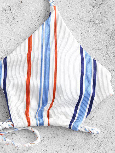 new ZAFUL Stripes Color Your Life - LIGHT BLUE L Mobile