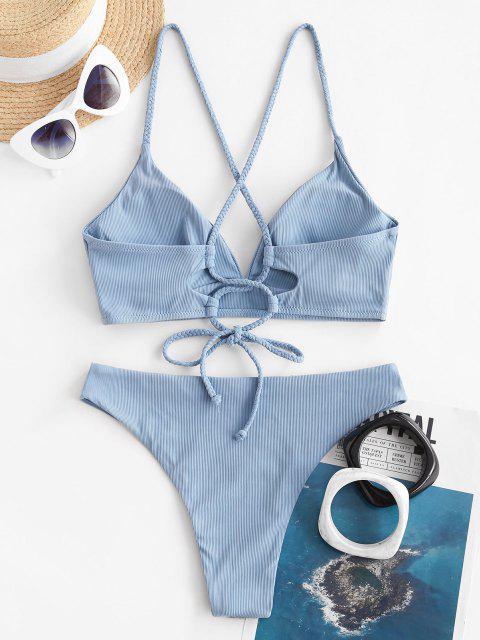 shop ZAFUL Lost In Mist - LIGHT BLUE M Mobile