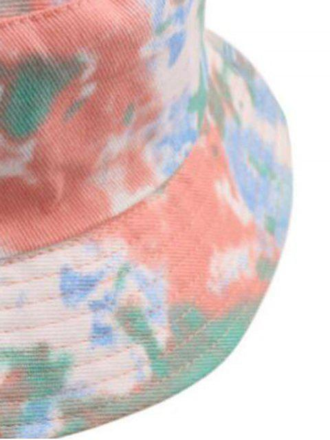 chic Tie Dye Print Bucket Hat - LIGHT PINK  Mobile