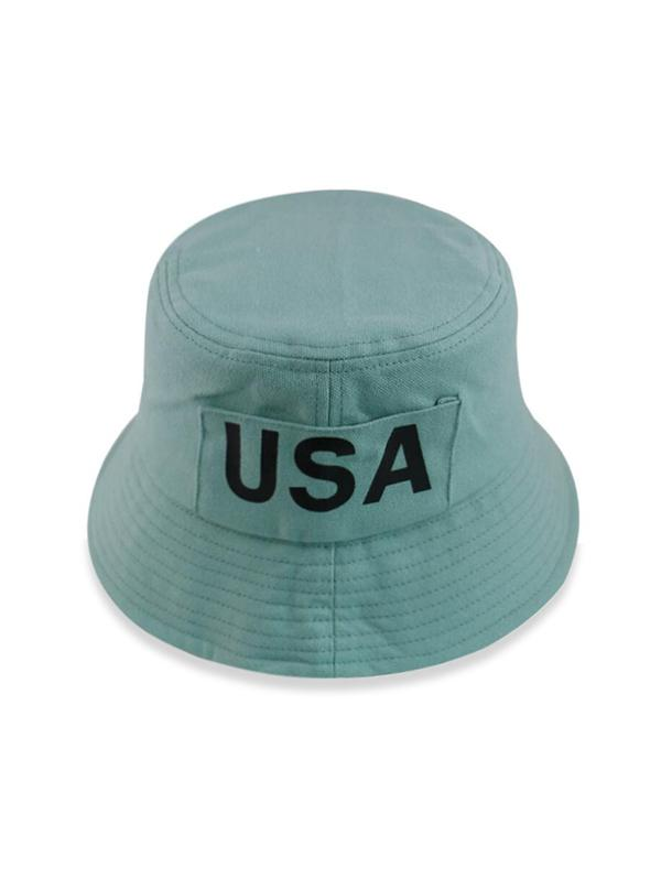 USA Print Bucket Hat
