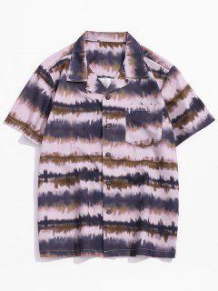 Pocket Patch Print Vacation Shirt - Multi-b 2xl