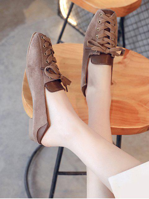 Chaussures Décontractées Jointif à Lacet - Brun EU 38 Mobile