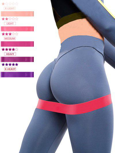 5 Pcs Yoga Stretch Band Resistance Bands - Multi-a