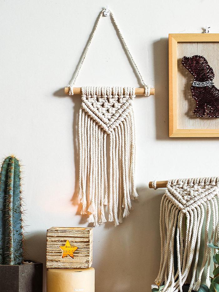 Bohemian Rope Fringe Hanging Wall Decor