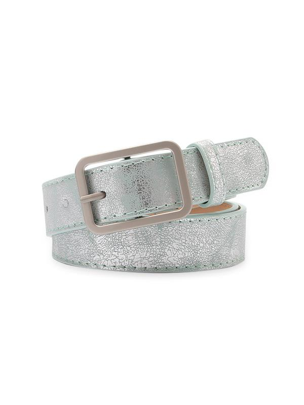 Rectangle Pin Buckle Waist Belt