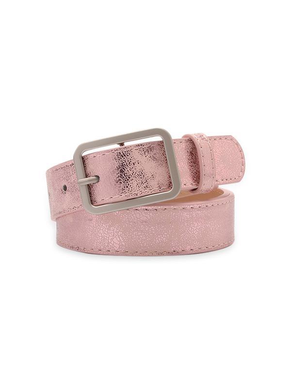 Rectangle Pin Buckle Waist Belt
