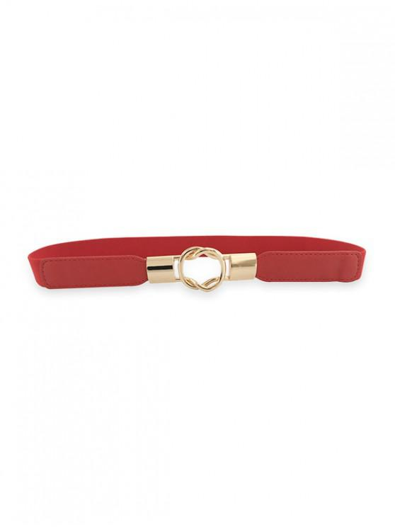 shops Elastic Thin Dress Belt - RED