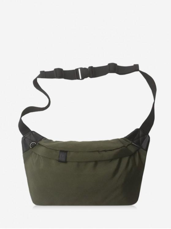 sale Leisure Crossbody Chest Bag - ARMY GREEN