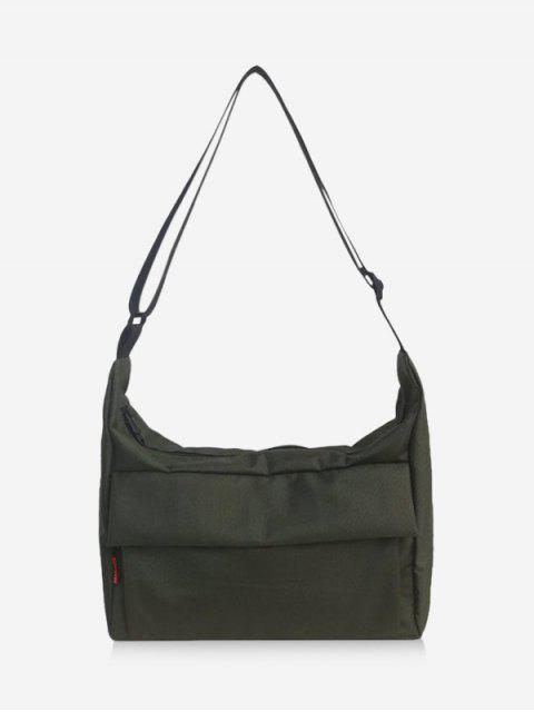 chic Leisure Solid Crossbody Bag - ARMY GREEN  Mobile