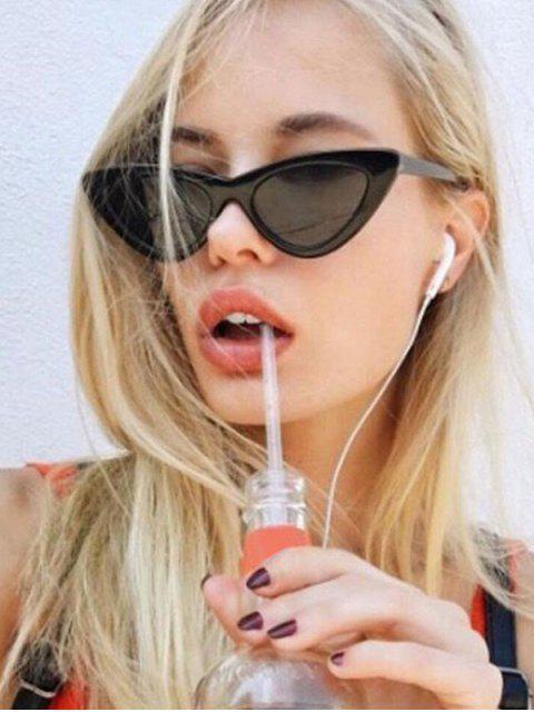 latest Outdoor Anti UV Triangle Sunglasses - BLACK  Mobile