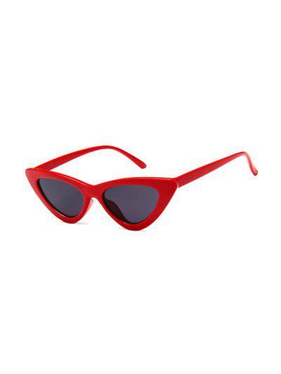 Outdoor Anti UV Triangle Sunglasses - Red