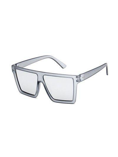 Retro Maxi-Platz Sonnenbrillen - Grau