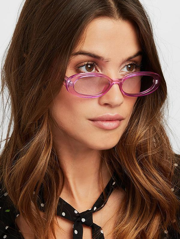 Oval Small Resin Sunglasses