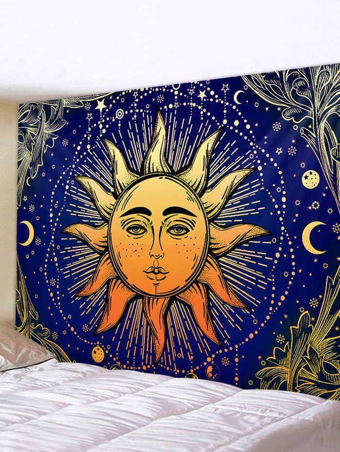 Sun Face Digital Printing Waterproof Tapestry