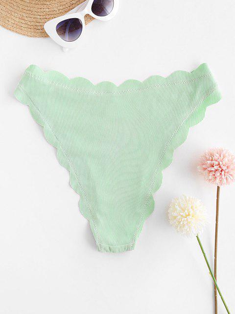 Bikini Smerlato di ZAFUL in Tinta Unita - Verde Menta  S Mobile