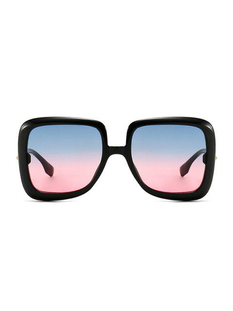 online Ombre Retro Square Sunglasses - WATERMELON PINK  Mobile