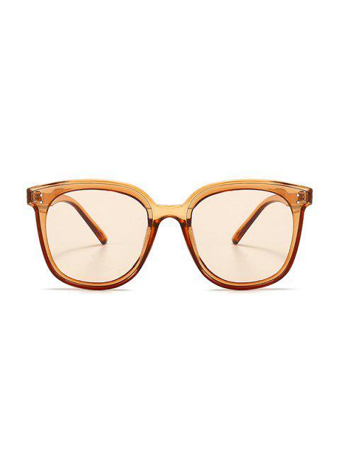 ladies UV Protection Round Retro Sunglasses - TANGERINE  Mobile