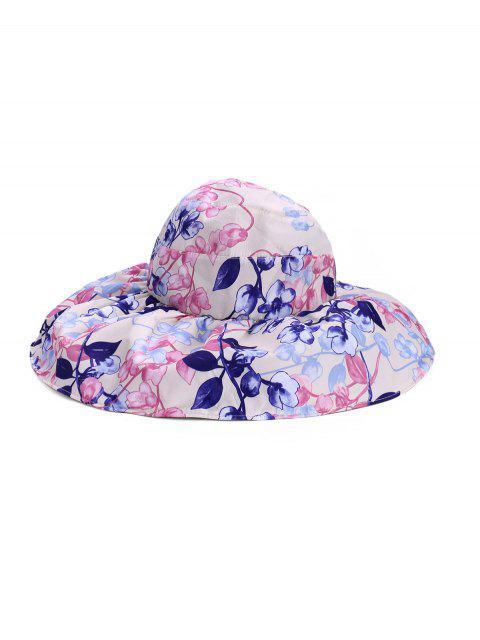 Cappello Regolabile per Berretto da Donna con Gradiente di Fiore - Bianco caldo  Mobile