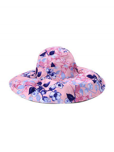 Cappello Regolabile per Berretto da Donna con Gradiente di Fiore - Rosa  Mobile