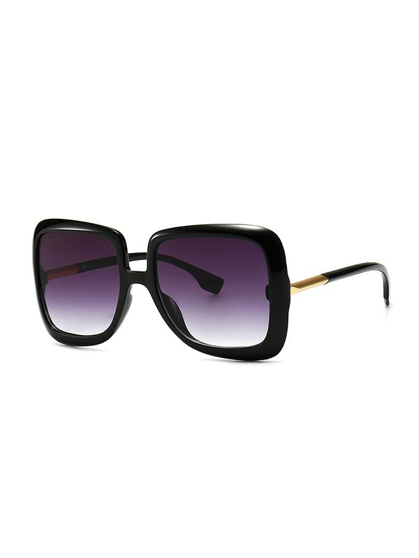 Ombre Retro Square Sunglasses