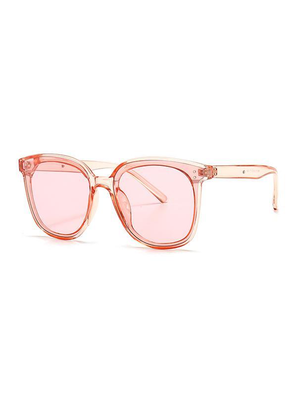 UV Protection Round Retro Sunglasses