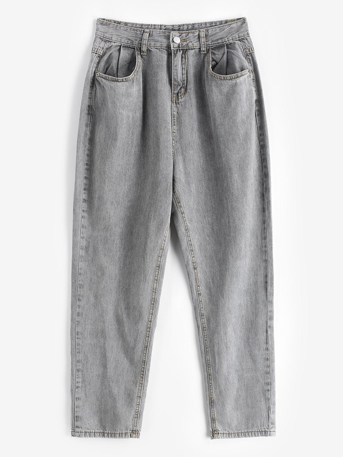Tapered Mom Jeans