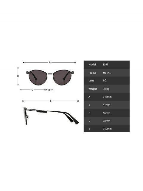 Occhiali da Sole Non Cerchiati Semilunari Anti Stanchezza - Nero  Mobile