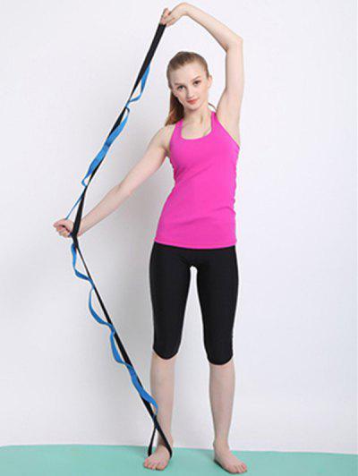 Yoga Training Stretch Resistance Band - Blue