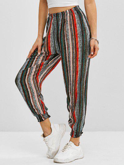 Pantalon De Jogging Rayé - Multi M