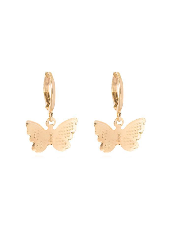 Butterfly Clip Earrings