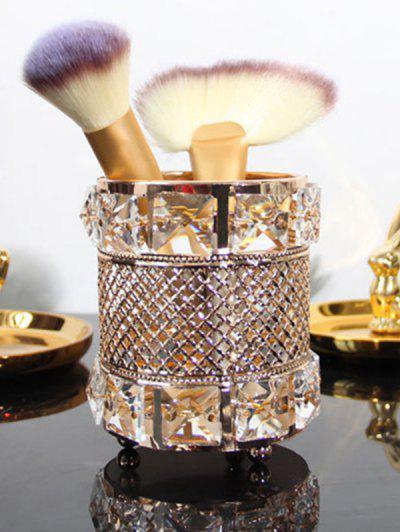 Home Decoration Cylinder Pen Holder Makeup Brush Holder - Multi-a