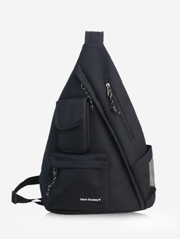 One Strap Multi-pocket Large Capacity Backpack