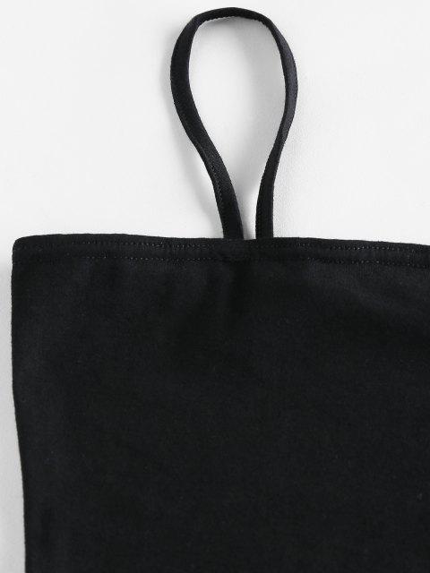 womens ZAFUL Snake Print Belted Co Ord Set - NATURAL BLACK L Mobile