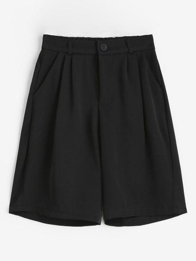 Short Plissé - Noir M