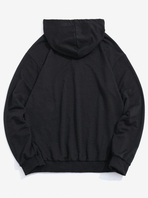 outfit Snake Pattern Hoodie - BLACK XL Mobile