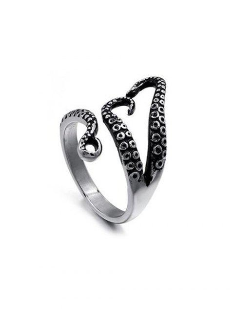 new Adjustable Octopus Feet Open Ring - BLACK  Mobile