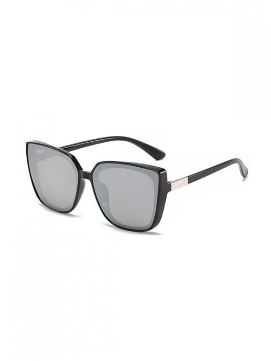 sale UV Protection Oversized Sunglasses - BLACK