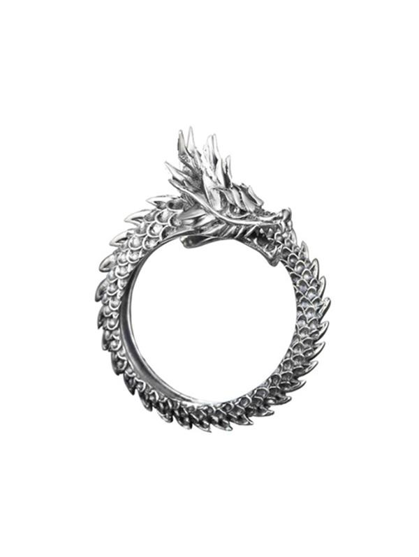 Chinese Style Dragon Open Ring