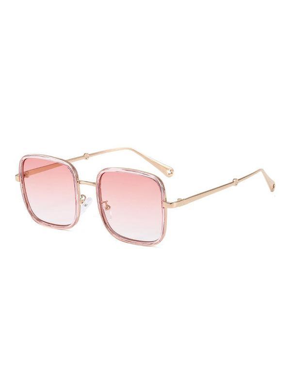Retro Large Square Sunglasses