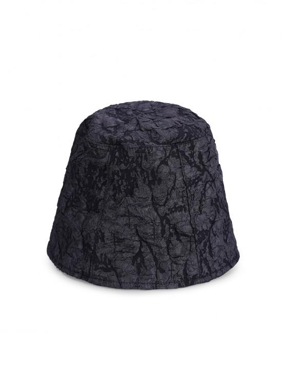 affordable Sunproof Thin Bucket Hat - BLACK