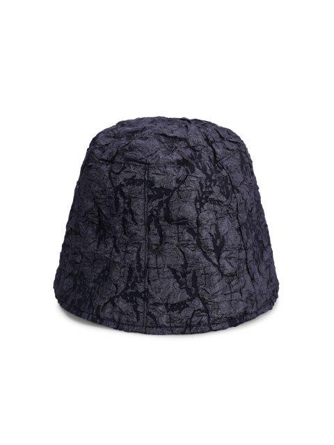 Sonnensicher Dünner Bucket Hut - Schwarz  Mobile