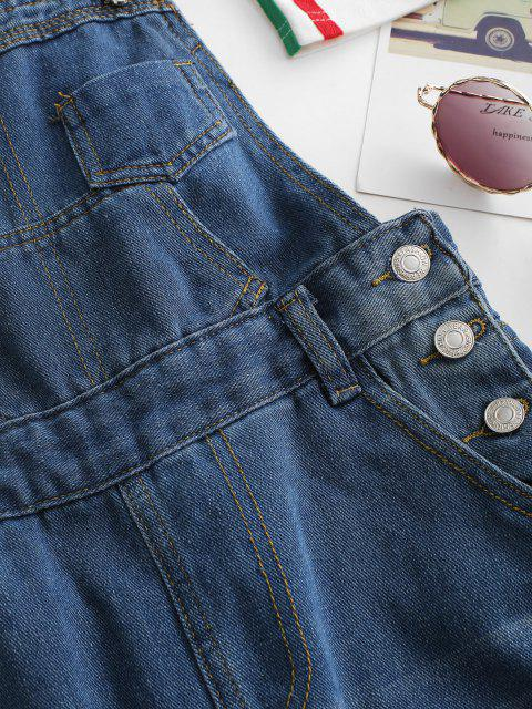 Mono Pijama con Cordones y Bolsillos - Azul M Mobile